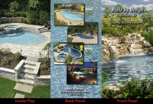 Pools by Design Brochure outside