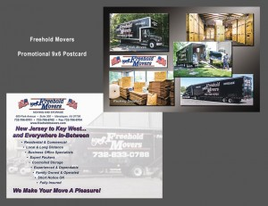 Freehold Movers 6x9 Postcard