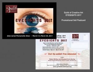 Guild Eyesights 2017 6x9 Post Card