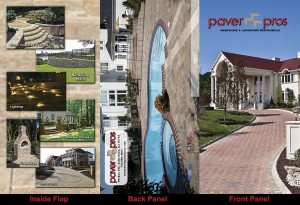 PaverPros Brochure outside