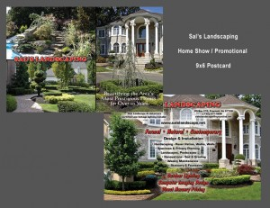 Sal's Landscaping 6x9  Post Card